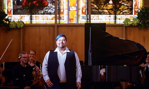 The Navajo pianist
