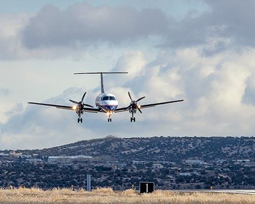 Farmington airport boasts bigger planes, more seats