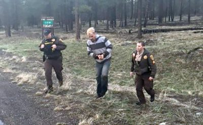 Armed fugitive arrested near Bearizona Wildlife Park