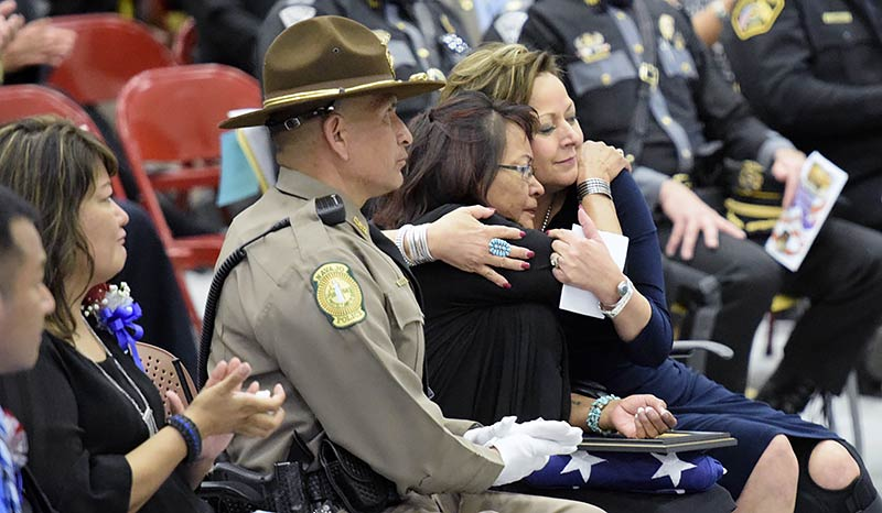 Sister of fallen Navajo police officer remembers her 'baby brother'