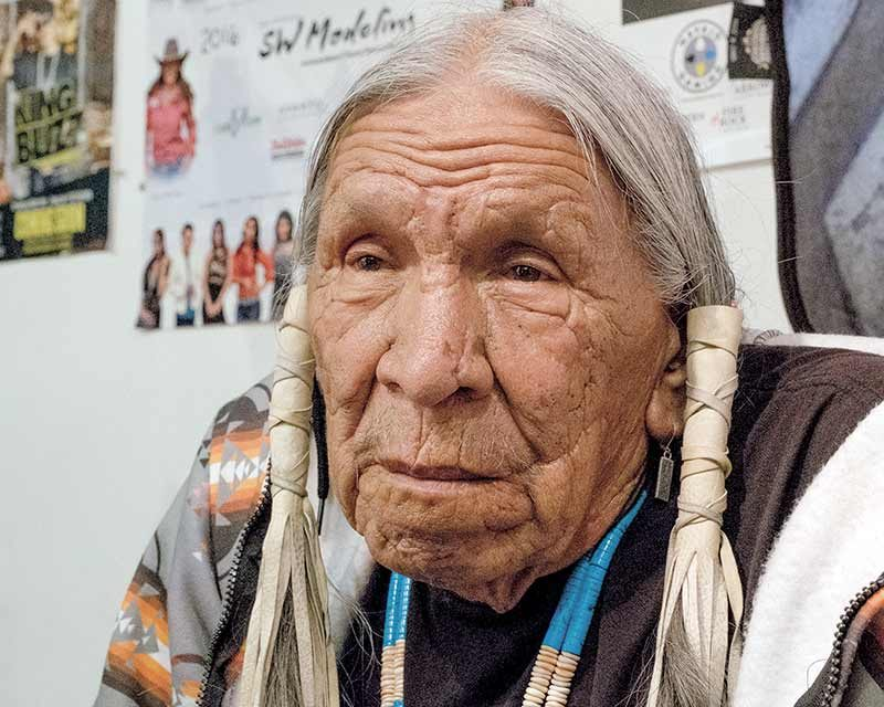 Saginaw Grant: playing an Indian on TV