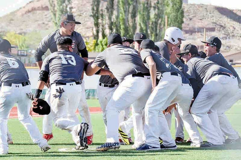 Page edges Monument Valley for 3A North title