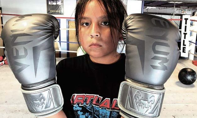 Young Diné brothers learn the boxing trade