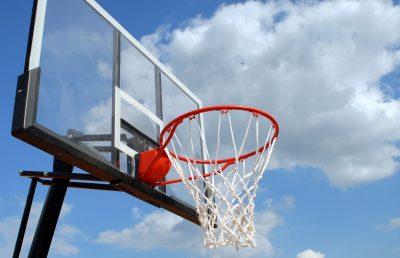 Basketball clear backboard