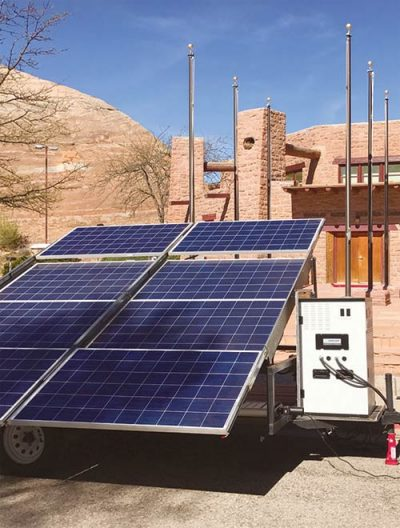 Solar Panels May Provide Power To Remote Residents
