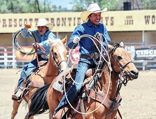 Ropin Hot Navajo Times
