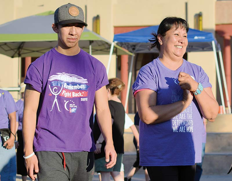 9 relays, two remissions later, survivor perseveres