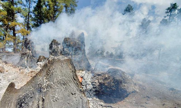 Fire on the Summit 20 percent contained