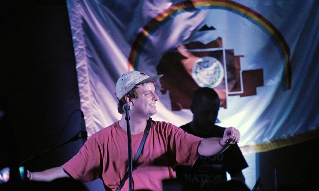 DeMarco performs at Shiprock Chapter House