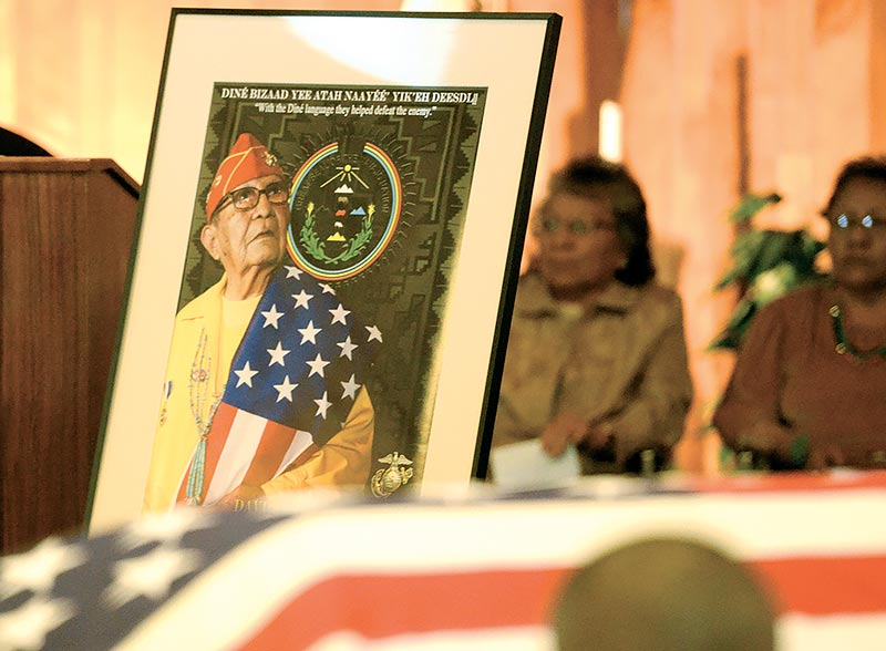 Code Talker remembered for faith, family and bowling