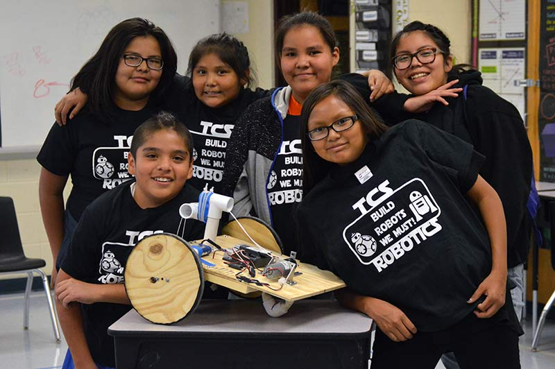 To'hajiilee robotics team places 3rd at state competition