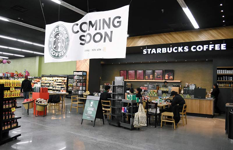 Frappes soon: WR Starbucks set to open