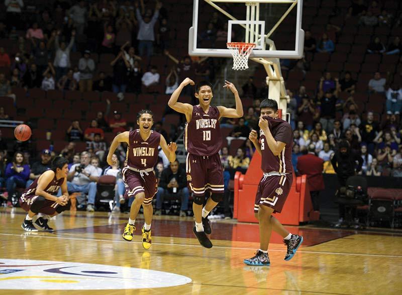 Defensive effort helps Winslow boys capture state title