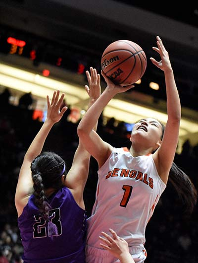 Lady Bengals emerge from the battle of Gallup