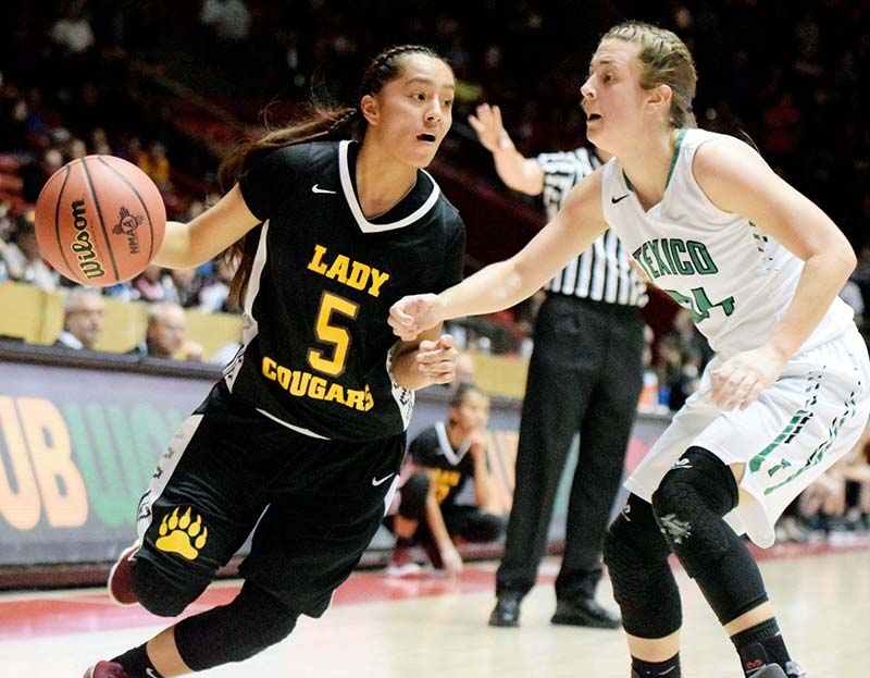 Last seconds deny Lady Cougars repeat title