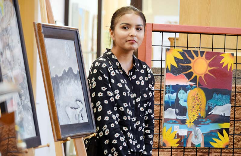 Budding artists win trip to NYC school of art