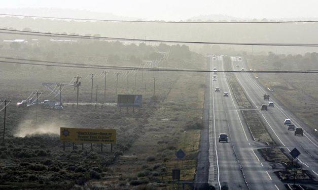 Vehicles on Highway 264 shot by pellet gun