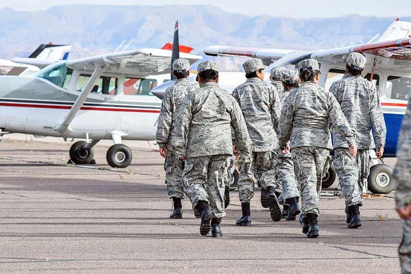 Shonto sports Civil Air Patrol's newest escadrille in Ariz.
