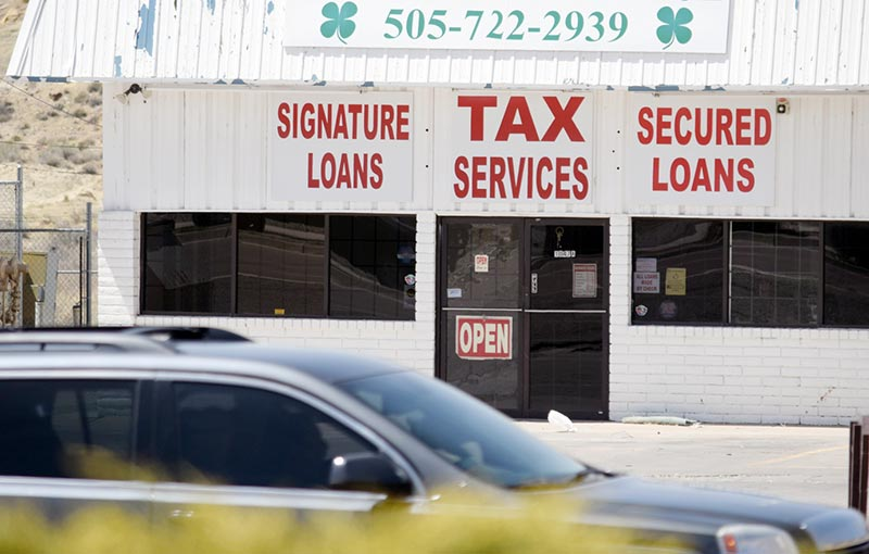 Tax loans not subject to same regulations as payday loans