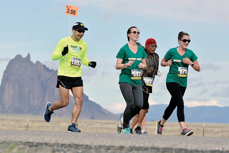 Speakers, teddy bears added for Shiprock Marathon's 35th year