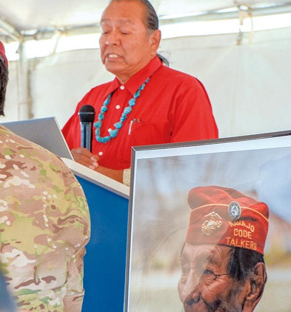 Code talker day back on the table - Navajo Times
