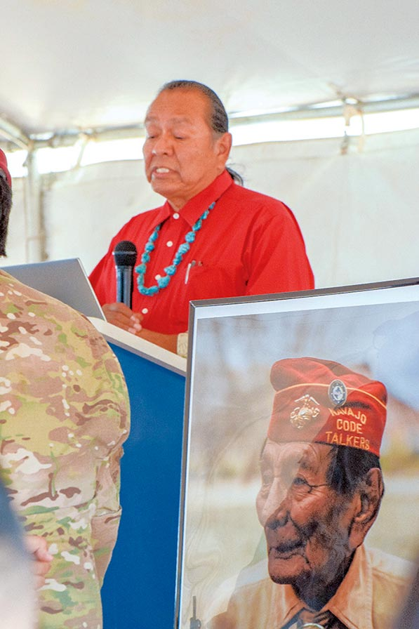 code talker day back on the table