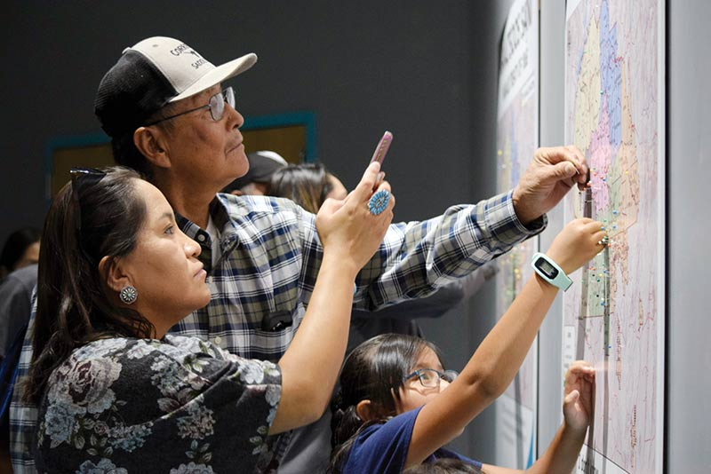 Data at treaty exhibit offer some surprises