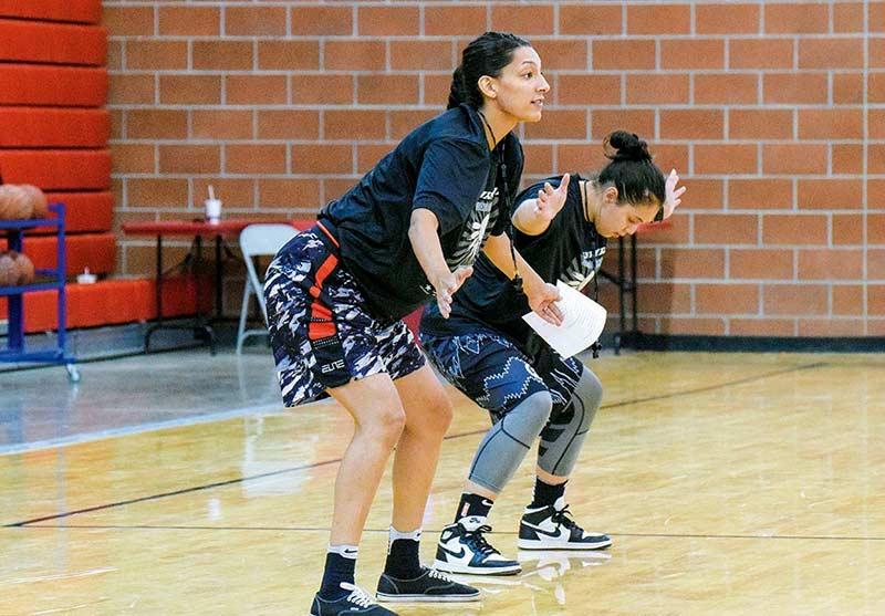 Basketball camp taps Native women players