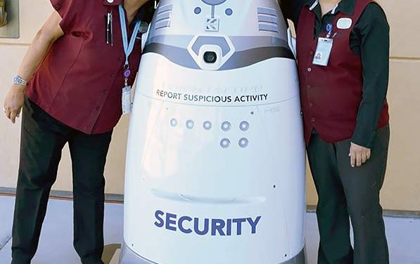 Twin Arrows has first robot security guard in state