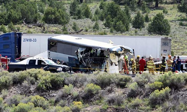 Multiple fatalities, injuries reported in Greyhound vs. semi crash