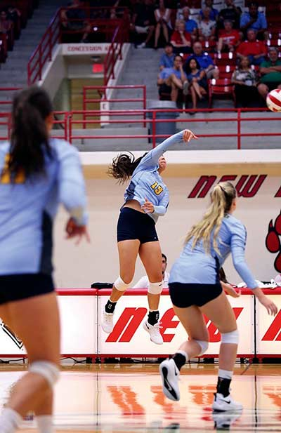 Transfer to Fort Lewis restores player's love of volleyball