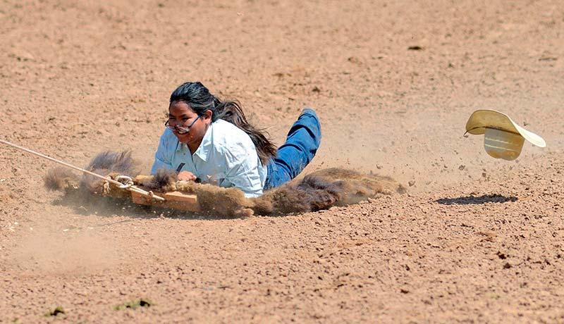 Old-school events test cowboys, cowgirls