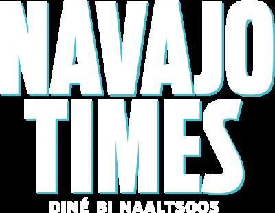 Navajo Times logo - Dine Bi Naaltsoos