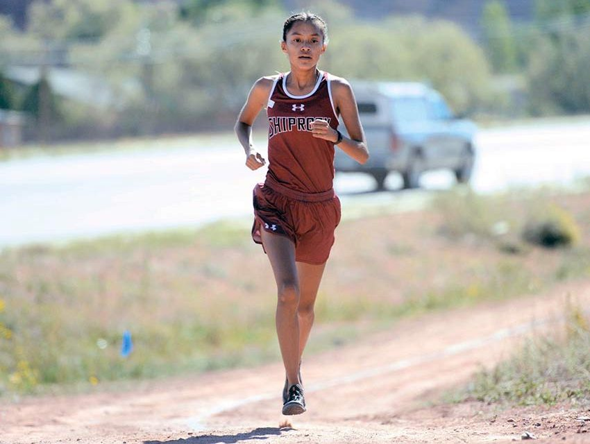 Shiprock's Lapahie is going places … but not like she envisioned