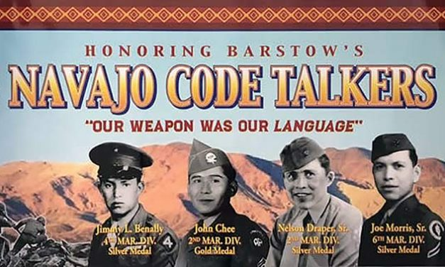 Barstow honors code talkers who lived in city