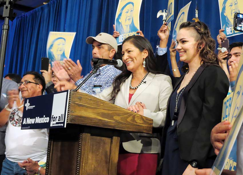 Rep-elect Haaland: Clean energy is possible without losing jobs