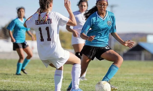 Navajo Prep girls soccer wins first-ever playoff game