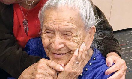 Centenarian's recipe for a happy life: Travel, read, eat