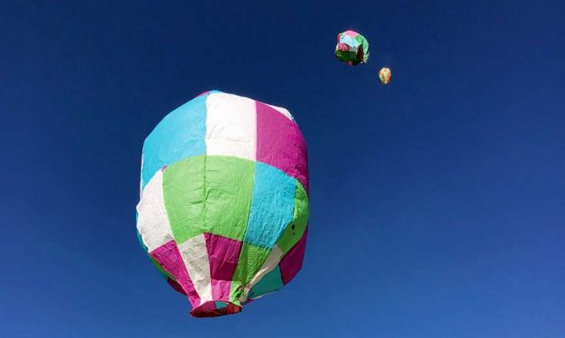 Piñon 5th-graders become hot air balloonists