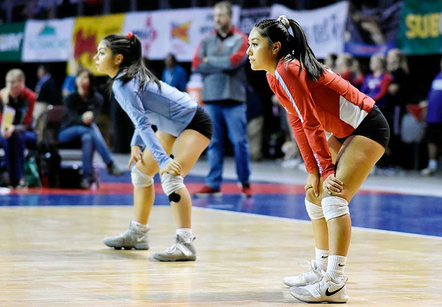 Sandia senior takes a step back from volleyball