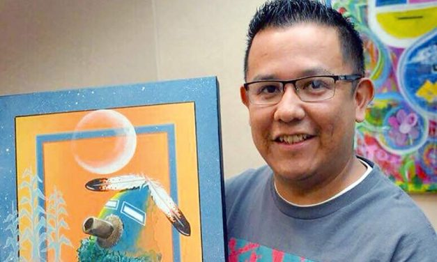 Moving back to rez was turning point for Diné artist