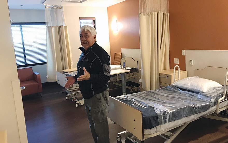 New nursing home a big step up