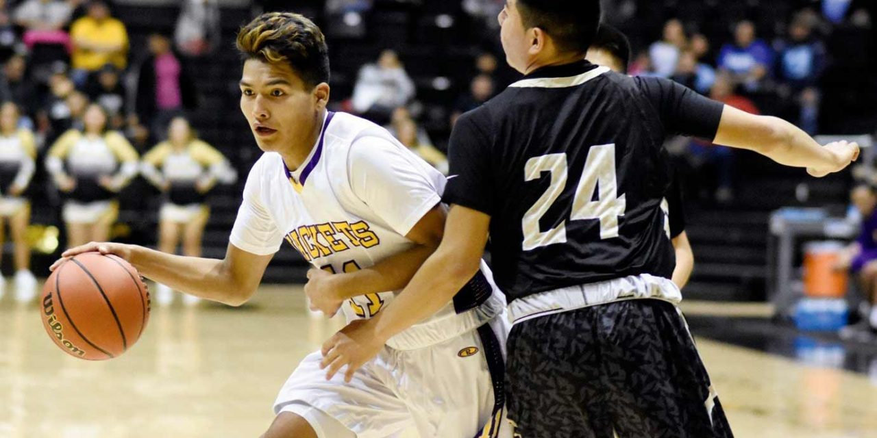 Chinle swats down Yellowjackets to win tourney