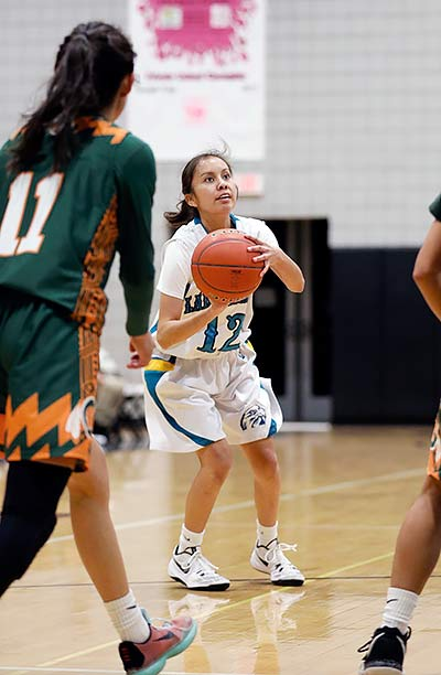 Lady Eagles' Sandoval embraces leadership role