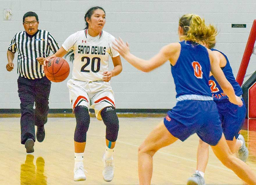 Page girls take over 3A North driver's seat