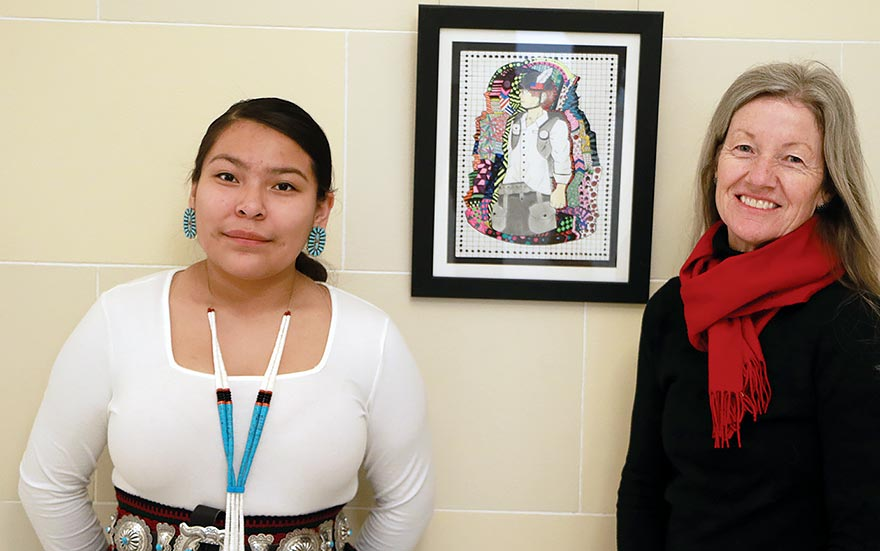 Whitehorse High freshman places 3rd in Utah art competition