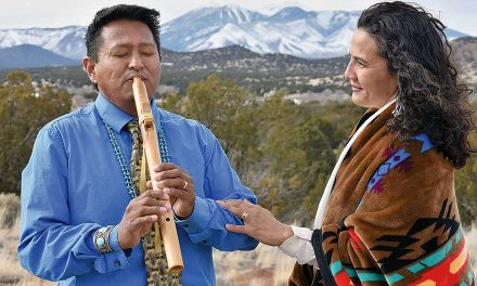 Music as medicine Flutist's music is his prayer of gratitude