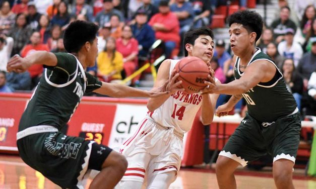 Lower seeds fight, but Mustangs, Scouts win