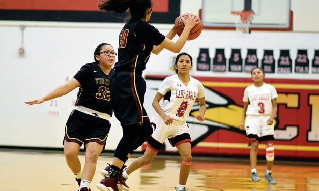 Lady Cougars snap Crownpoint's win streak