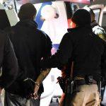 Stolen vehicle pursuit ends in manhunt, arrest of murder suspect
